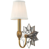 Barton 1 Light 7 inch Aged Brass Wall Sconce Wall Light