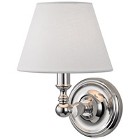 Hudson Valley 3221-PN Sidney 1 Light 7 inch Polished Nickel Pendant Ceiling Light