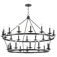 Hudson Valley 3228-AOB Allendale 28 Light 58 inch Aged Old Bronze Chandelier Ceiling Light