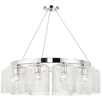 Charles 10 Light 35 inch Polished Nickel Chandelier Ceiling Light