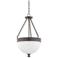 Barrington 3 Light 14 inch Historic Bronze Pendant Ceiling Light