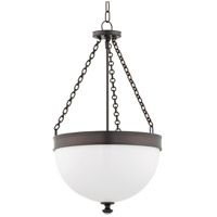 Barrington 3 Light 17 inch Historic Bronze Pendant Ceiling Light