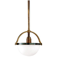 Stratford 1 Light 10 inch Historic Bronze Pendant Ceiling Light