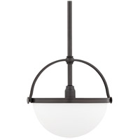 Hudson Valley Lighting Stratford 1 Light Pendant in Historic Bronze 3312-HB