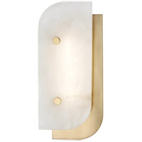 Yin and Yang LED 6 inch Aged Brass ADA Wall Sconce Wall Light