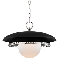 Herkimer 1 Light 18 inch Polished Nickel Pendant Ceiling Light