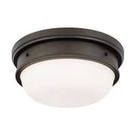 Trumbull 2 Light 13 inch Old Bronze Flush Mount Ceiling Light