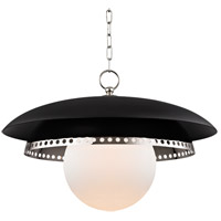 Hudson Valley Lighting Herkimer 1 Light Pendant in Polished Nickel 3325-PN