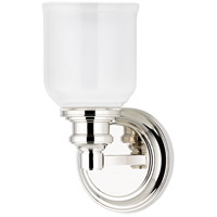 Hudson Valley 3401-PN Windham 1 Light 5 inch Polished Nickel Bath And Vanity Wall Light