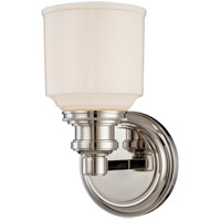 Windham 1 Light 5 inch Satin Nickel Bath And Vanity Wall Light
