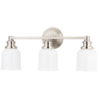 Windham 3 Light 23 inch Satin Nickel Bath And Vanity Wall Light