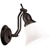 Hadley 1 Light 6 inch Old Bronze Bath And Vanity Wall Light