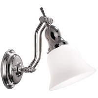 Hudson Valley Lighting Adjustables 1 Light Bath And Vanity in Polished Nickel 341-PN