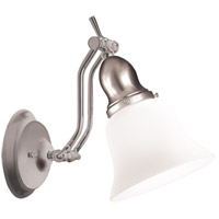 Hadley 1 Light 6 inch Satin Nickel Bath And Vanity Wall Light