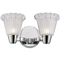 Varick 2 Light 12 inch Polished Chrome Wall Sconce Wall Light