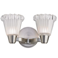 Varick 2 Light 12 inch Satin Nickel Wall Sconce Wall Light
