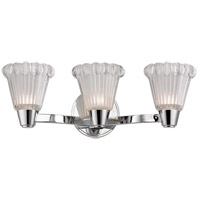 Varick 3 Light 19 inch Polished Chrome Wall Sconce Wall Light