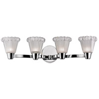 Hudson Valley Lighting Varick 4 Light Xenon Wall Sconce in Polished Chrome 3444-PC