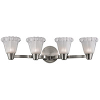 Hudson Valley Lighting Varick 4 Light Xenon Wall Sconce in Satin Nickel 3444-SN