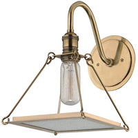 Thorndike 1 Light 8 inch Aged Brass Wall Sconce Wall Light