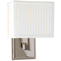Hudson Valley Lighting Waverly 1 Light Wall Sconce in Polished Nickel 351-PN