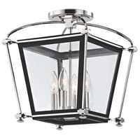 Hudson Valley Lighting Hollis 4 Light Semi Flush in Polished Nickel 3610-PN