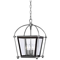 Hudson Valley Lighting Hollis 4 Light Pendant in Polished Nickel 3612-PN