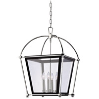 Hudson Valley Lighting Hollis 4 Light Pendant in Polished Nickel 3618-PN
