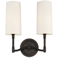 Hudson Valley 362-OB Dillon 2 Light 12 inch Old Bronze Wall Sconce Wall Light