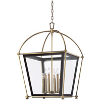 Hudson Valley Lighting Hollis 8 Light Pendant in Aged Brass 3624-AGB