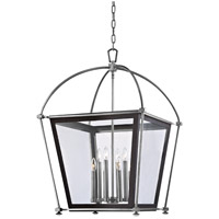 Hudson Valley Lighting Hollis 8 Light Pendant in Polished Nickel 3624-PN