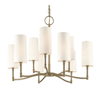 Hudson Valley Lighting Dillion 9 Light Chandelier in Antique Nickel 369-AN