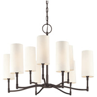 Hudson Valley Lighting Dillion 9 Light Chandelier in Old Bronze 369-OB