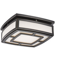 Hudson Valley 3710-OB Elmore LED 10 inch Old Bronze Flush Mount Ceiling Light, Small