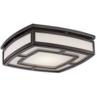 Hudson Valley 3713-OB Elmore LED 13 inch Old Bronze Flush Mount Ceiling Light, Large