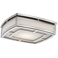 Hudson Valley 3713-PN Elmore LED 13 inch Polished Nickel Flush Mount Ceiling Light, Large