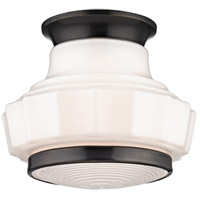 Odessa 1 Light 9 inch Old Bronze Flush Mount Ceiling Light