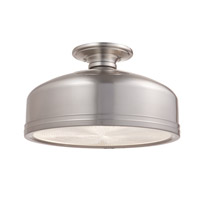 Hudson Valley Lighting Winslow 2 Light Semi Flush in Satin Nickel 3815-SN