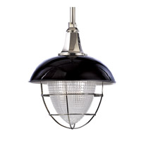 Hudson Valley Lighting Keene Pendant in Black Polished Nickel 3818-BPN
