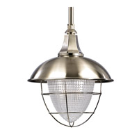 Keene 1 Light 18 inch Satin Nickel Pendant Ceiling Light