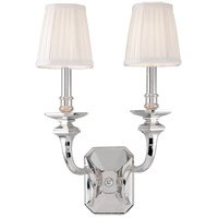Hudson Valley Lighting Arlington 2 Light Wall Sconce in Polished Nickel 382-PN