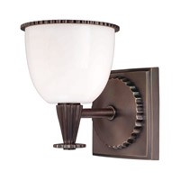 Hudson Valley Lighting Guilford 1 Light Bath And Vanity in Distressed Bronze 3881-DB photo thumbnail