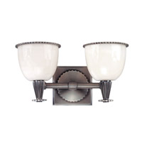 Hudson Valley Lighting Guilford 2 Light Bath And Vanity in Antique Nickel 3882-AN
