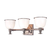 Hudson Valley Lighting Guilford 3 Light Bath And Vanity in Polished Nickel 3883-PN