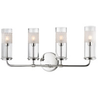 Wentworth 4 Light 23 inch Polished Nickel Wall Sconce Wall Light
