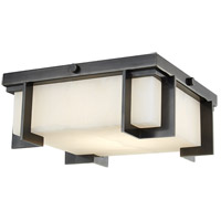 Hudson Valley 3910-OB Delmar LED 10 inch Old Bronze Flush Mount Ceiling Light
