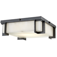 Delmar LED 13 inch Old Bronze Flush Mount Ceiling Light