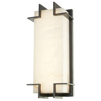 Delmar LED 7 inch Old Bronze ADA Wall Sconce Wall Light