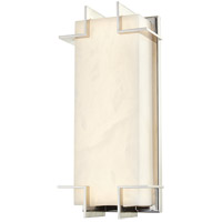 Hudson Valley 3915-PN Delmar LED 7 inch Polished Nickel ADA Wall Sconce Wall Light