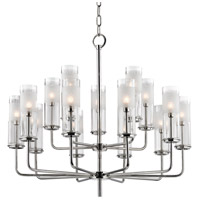 Hudson Valley Lighting Wentworth 15 Light Chandelier in Polished Nickel 3930-PN